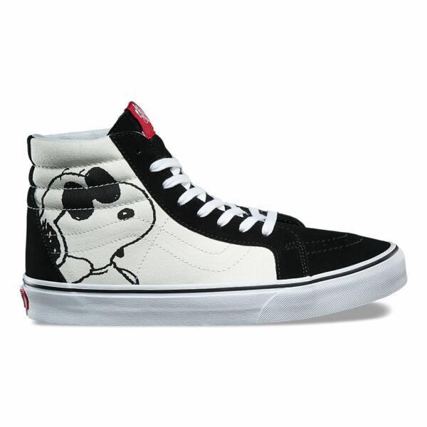 VANS SK8-Hi Reissue (Peanuts) Snoopy mintás vans magas szárú cipő