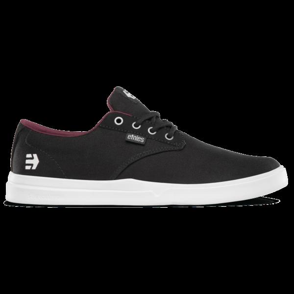 fekete vászon Etnies könnyített talpú cipő