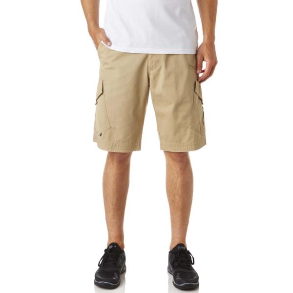 bézs oldalt zsebes Fox rövid nadrág