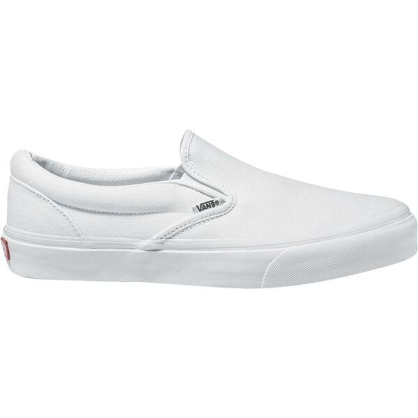fehér vans slip-on, belebújós vászon tornacipő