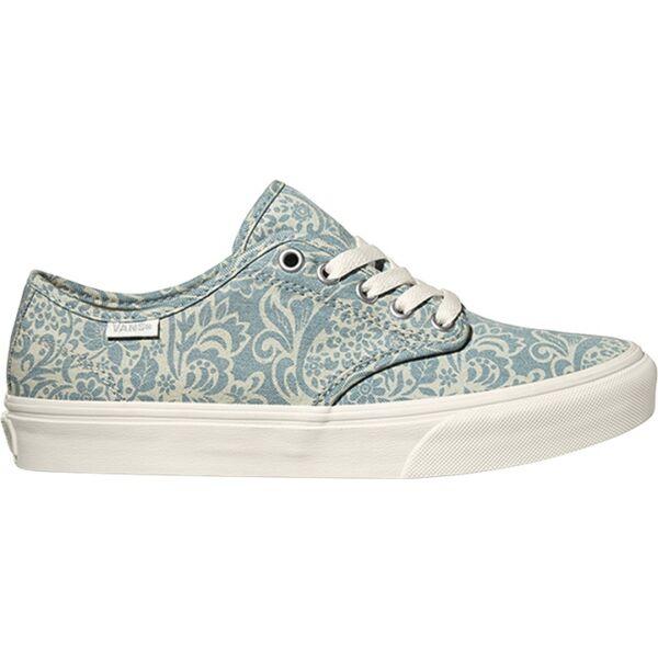VANS Camden Stripe (Henna)  #  Light blue virág mintás tornacipő