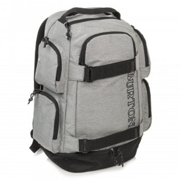 szürke 29 literes gördeszkatartós Burton hátizsák