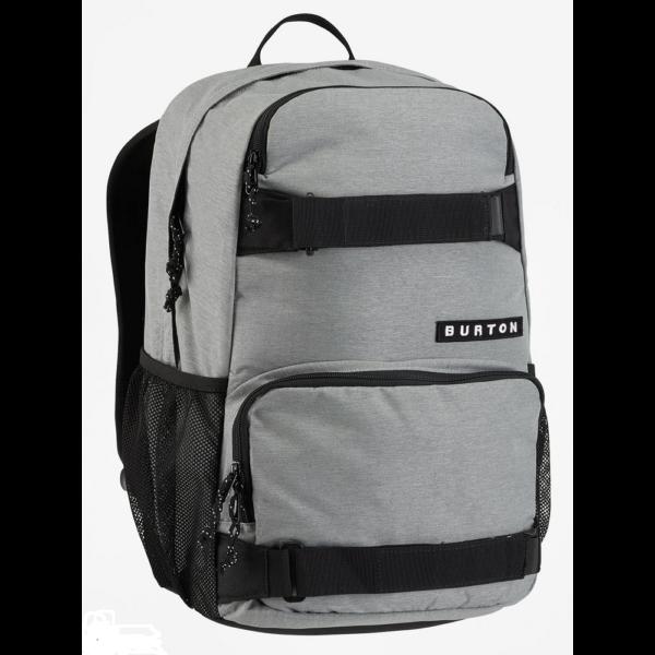 világos szürke 21 literes deszka tartós burton hátizsák
