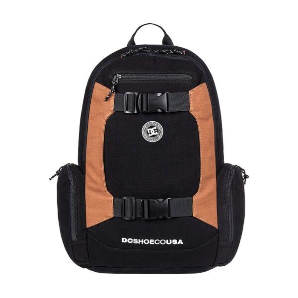fekete gördeszka tartós hátizsák