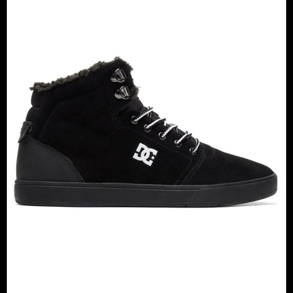DC Crisis High WNT fekete bundás magasszárú cipő