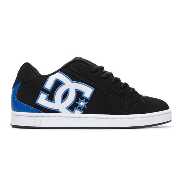 DC Net black-blue gördeszkás cipő