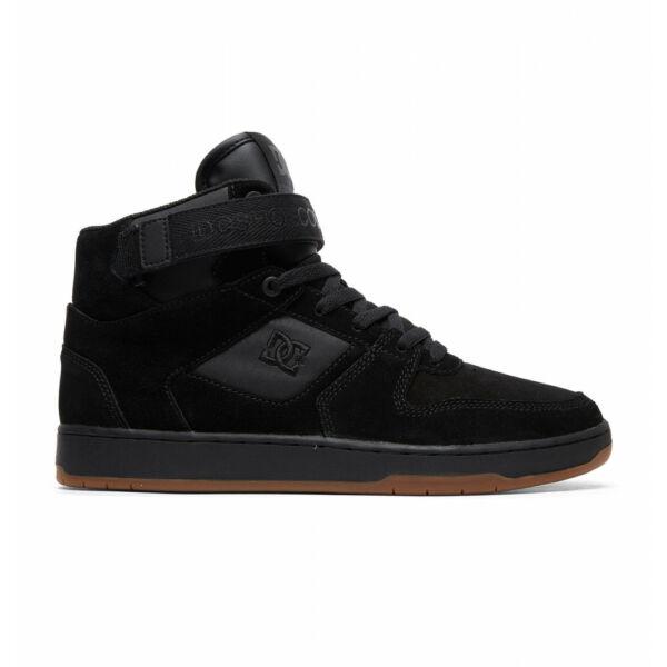 Dc fekete magas szárú cipő