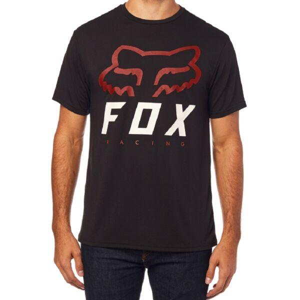 FOX Heritage Forger fekete technikai póló