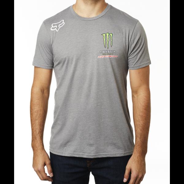 FOX Monster Pro Circuit szürke póló