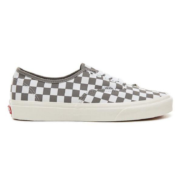 VANS Authentic szürke fehér kockás vans tornacipő b093143d42