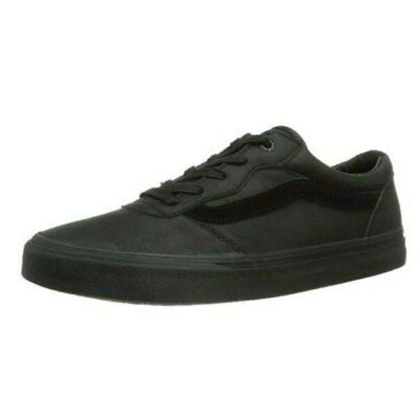VANS Milton (Leather)  #  Black / Black