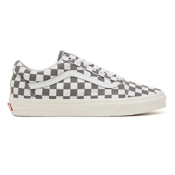 VANS Old Skool (Checkerboard) szürke fehér kockás vans cipő