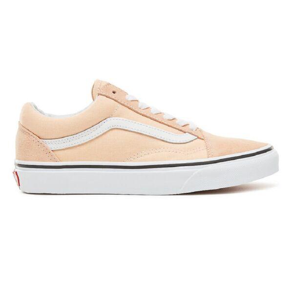 VANS Old Skool  barack színű cipő fehér vans csíkkal az oldalán