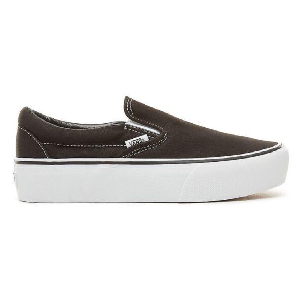VANS Classic Slip-on Platform   Black 5a7ec26465
