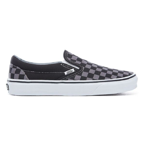 Vans Classic Slip-on fekete-szürke kockás vans cipő