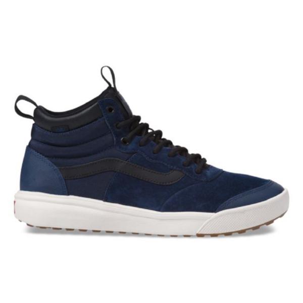 VANS UltraRange HI MTE kék téli cipő fekete vans csíkkal az oldalán