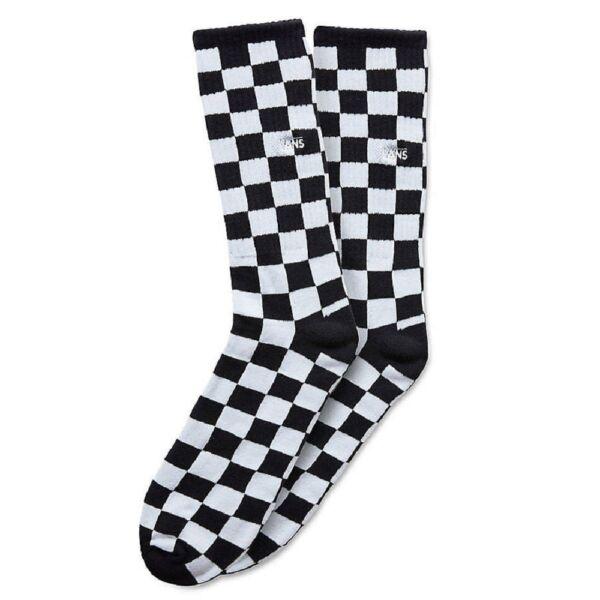 VANS Checkboard Crew fekete fehér kockás sport zokni