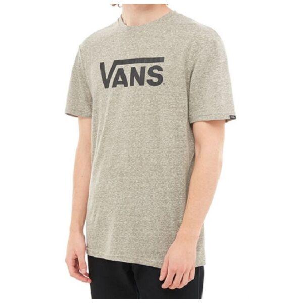VANS Classic Heather póló fekete  vans felirattal
