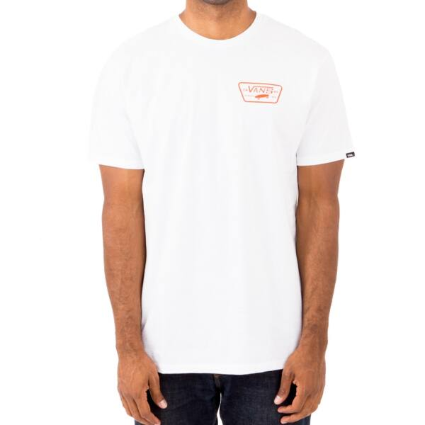 VANS Full Patch Back fehér póló