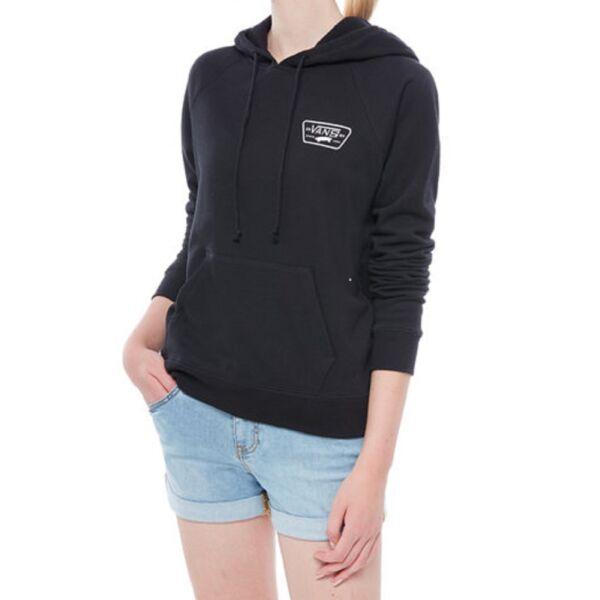fekete Vans női belebújós kapucnis pulóver