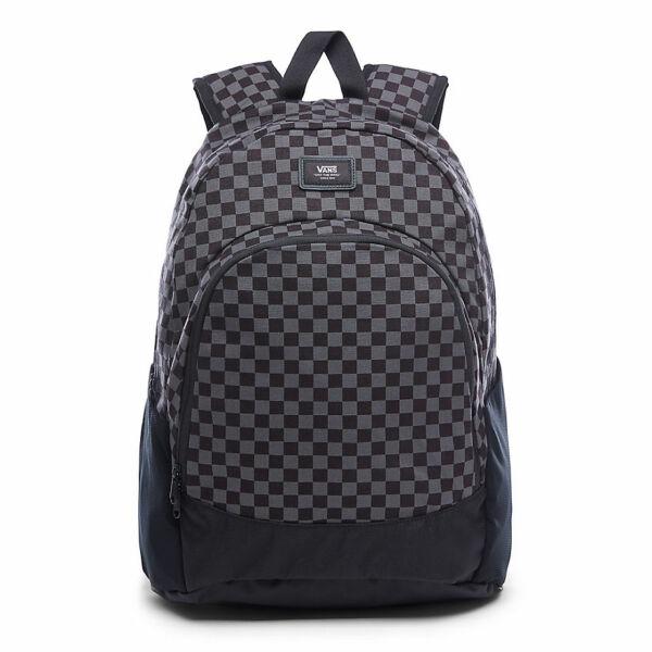 vans fekete-szürke kockás hátizsák 9a2ba263d3