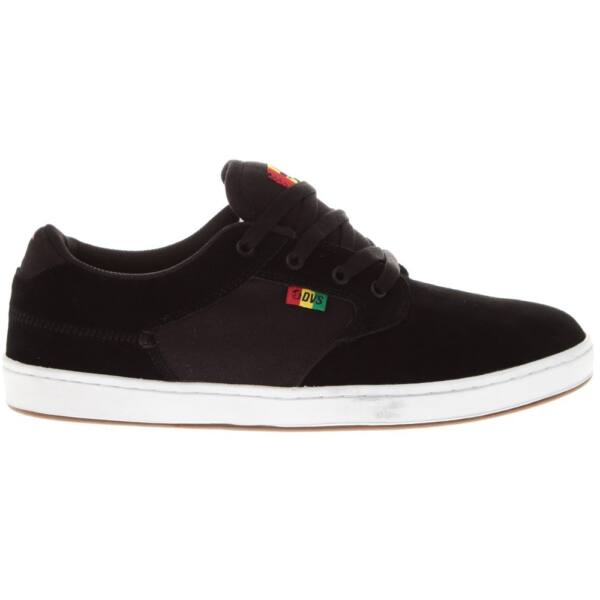DVS Quentin fekete rasta gördeszkás cipő
