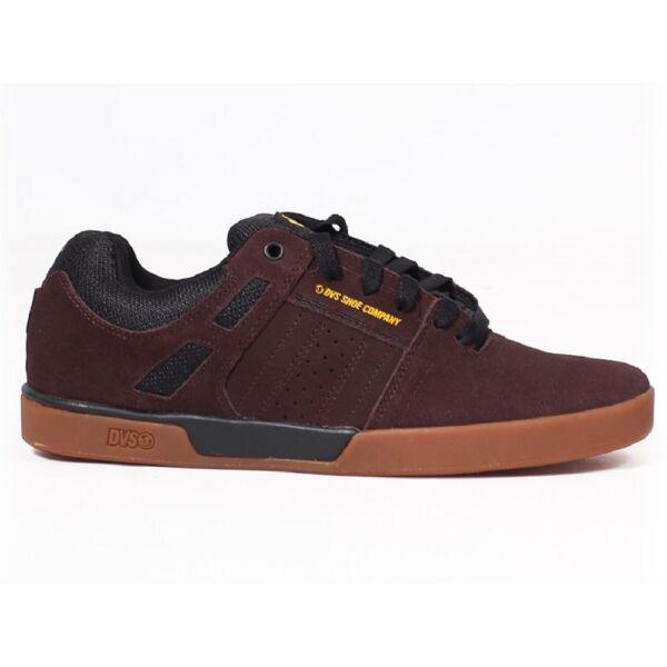 DVS Drift+ barna hasított bőr gördeszkás cipő