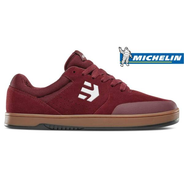 ETNIES Marana Michelin burgundy gördeszkás cipő