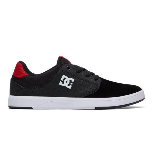 DC Plaza TC S fekete hasított bőr gördeszkás cipő