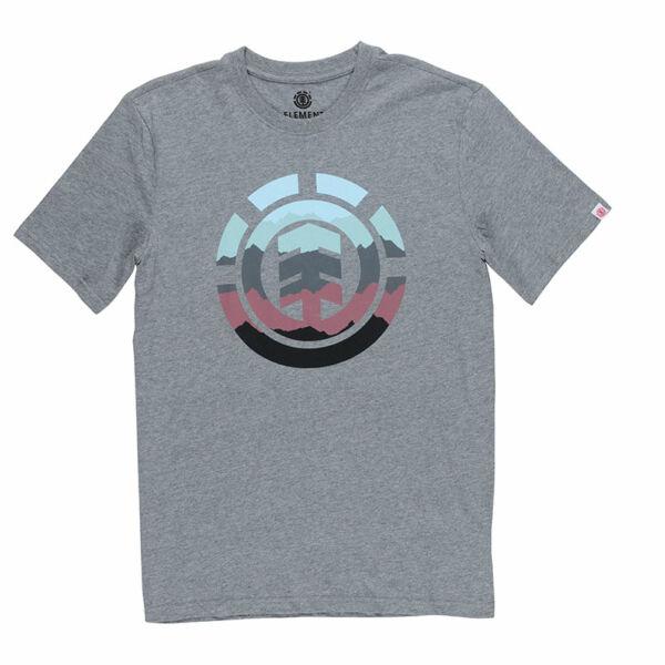 2396a94022 szürke Element póló nagy színes element logóval