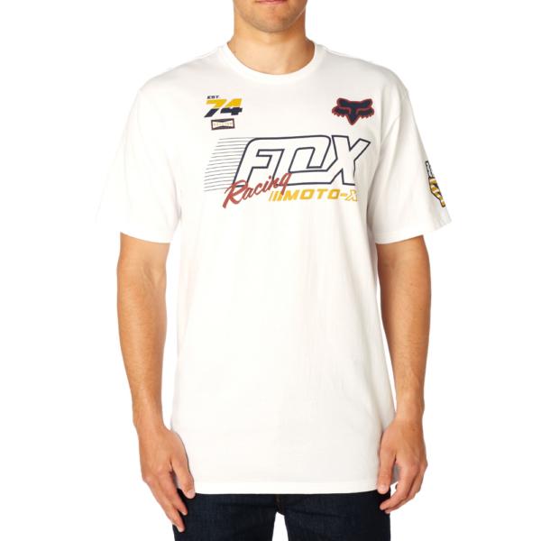 FOX Flection Tech  #  Optic white technikai póló