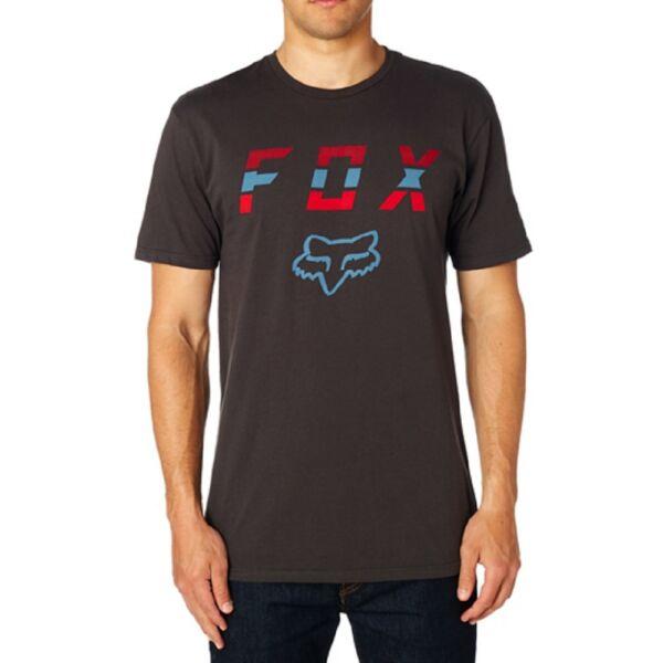 FOX Smoke Blower Premium fekete fox póló