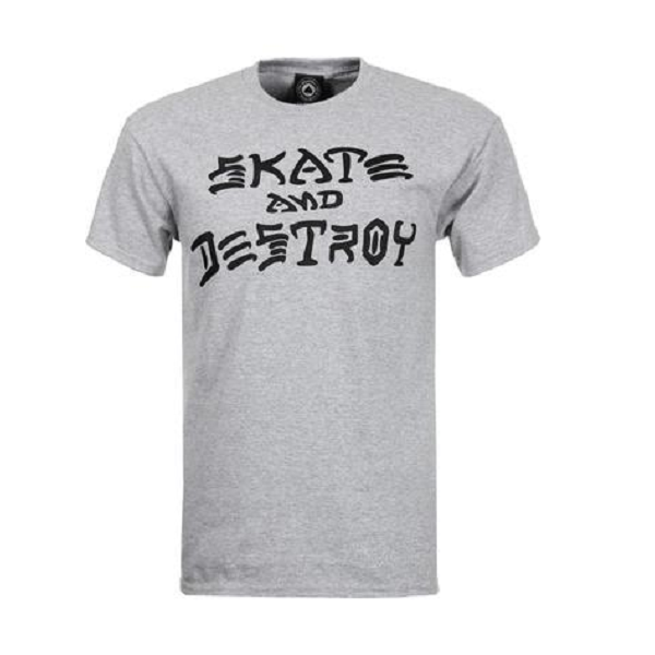 THRASHER Skate Destroy  #  Grey mottled