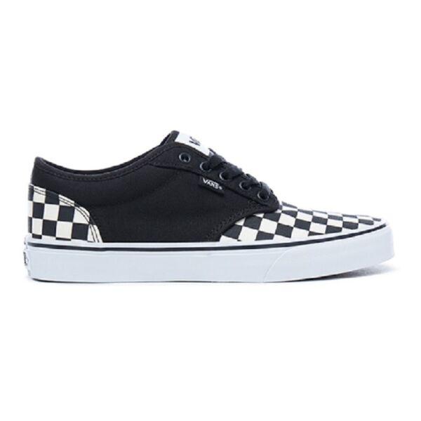 VANS Atwood (Checkboard) fekete fehér kockás vászon cipő