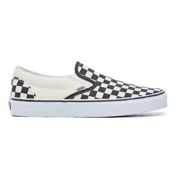 VANS Classic Slip-on  #  Black - White checkboard