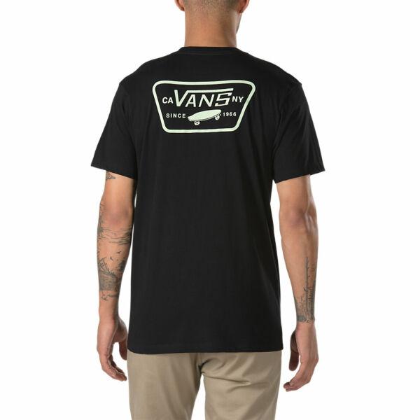 VANS Full Patch Back fekete póló