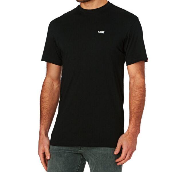 Fekete Vans póló kis fehér vans felirattal