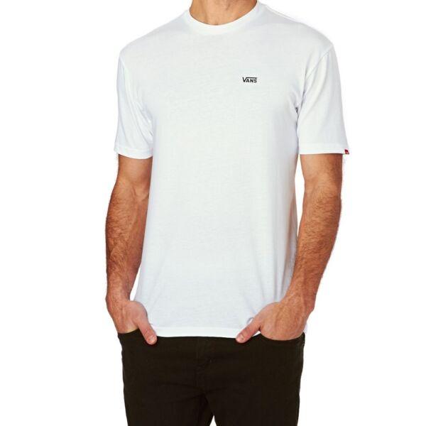 Fehér Vans póló kis fekete vans felirattal