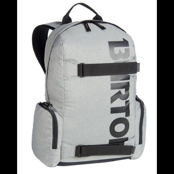 világos szürke 26 literes gördeszka tartós burton hátizsák