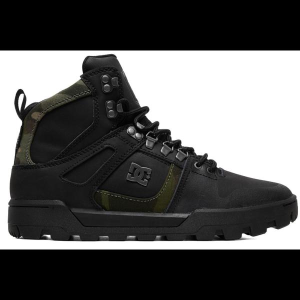 DC Pure High WR Boot  #  Black / Camo