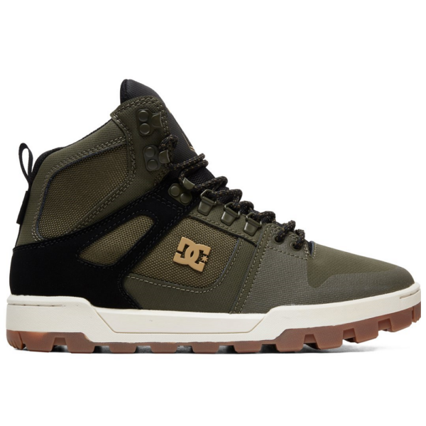 DC Pure High WR Boot  #  Olive / Black