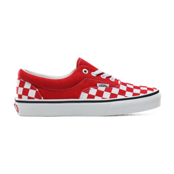 VANS Era (Checkerboard)  #  Racing red / True white