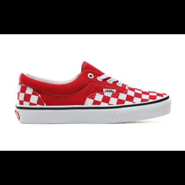 VANS Era (Checkerboard)  #  Racing red / True white