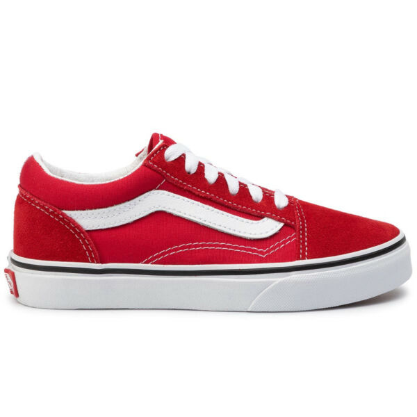 VANS Old Skool  #  Racing red / True white