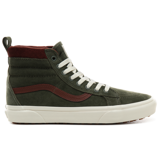 VANS SK8-HI MTE  # Deep lichen green / Root beer