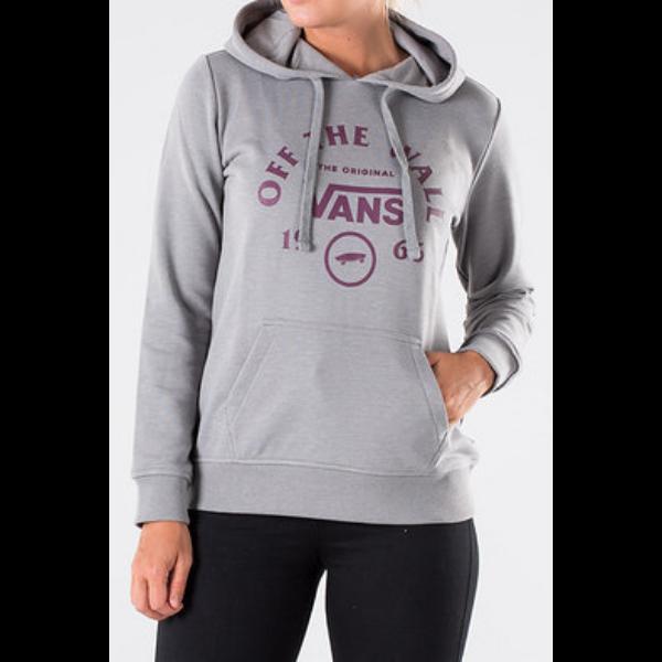 VANS Attendance PO Grey heather női kapucnis pulóver