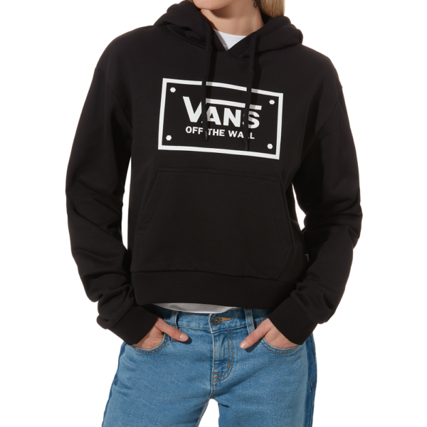 VANS Boom Boom Unity PO fekete kapucnis női pulóver