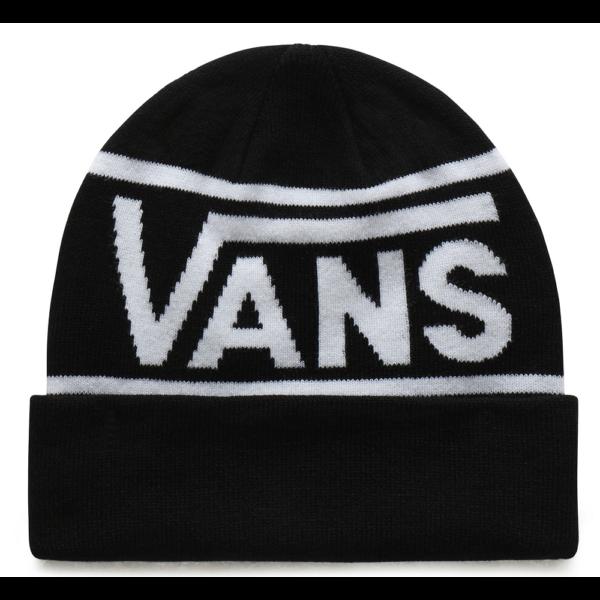VANS Drop V Stripe Cuff  #  Black kötött sapka