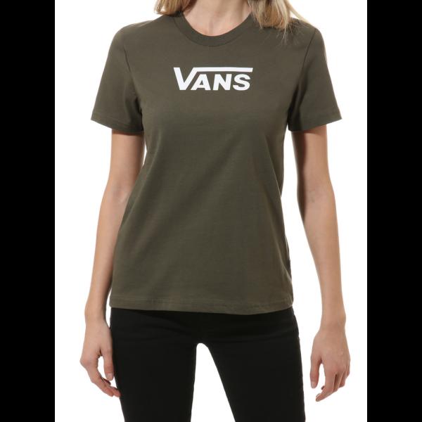 VANS Flying V Crew  #  Grape leaf női póló vans felirattal