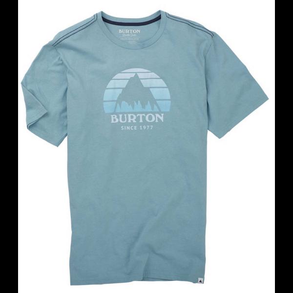 BURTON Underhill világoskék póló nyomott mintávall